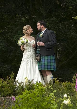 Assynt House Wedding