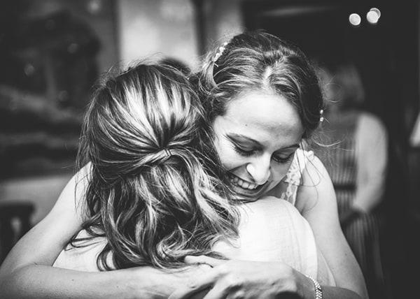 Wedding hugs at Alladale Wilderness Reserve