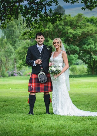 Fintry Wedding