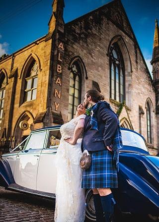 The Albany Wedding
