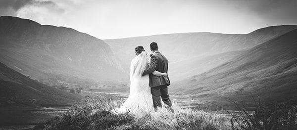 Elopement Couple in Highland Glen