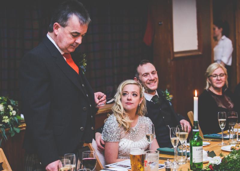Eilean Donan Castle Wedding First Kiss