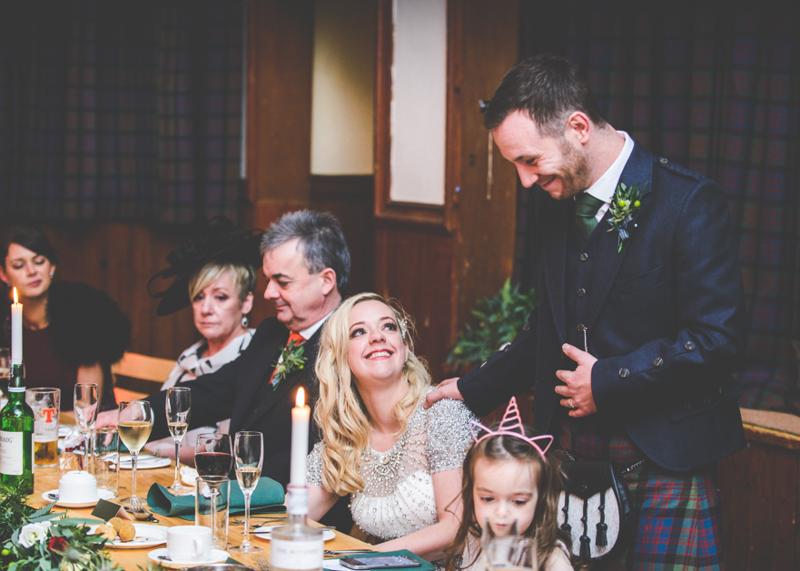 Eilean Donan Castle Wedding Ceremony