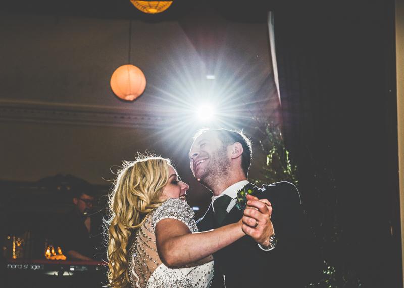 Eilean Donan Castle Wedding Just Married