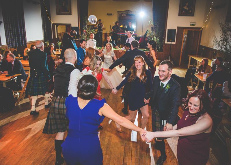 Eilean Donan Castle Wedding Couple Kissing