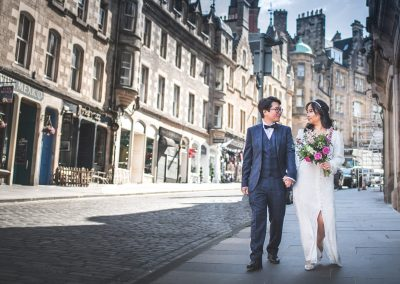 Glasgow Cloisters Wedding